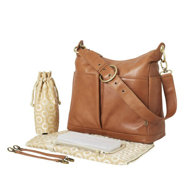 Leather 2 pocket Hobo - OIOI