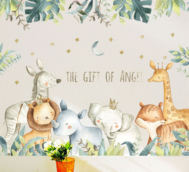 The Gift of Angel Baby Nursery Wall Sticker
