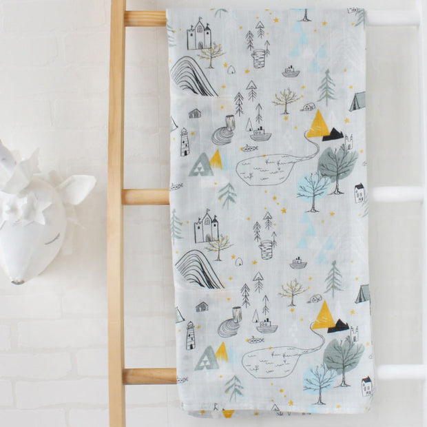Uptown Baby Swaddle Wrap 120-120 cm full image