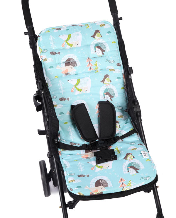 Winter Animals Pram Liner