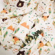 Woods Bamboo Baby Swaddle Wrap Closeup