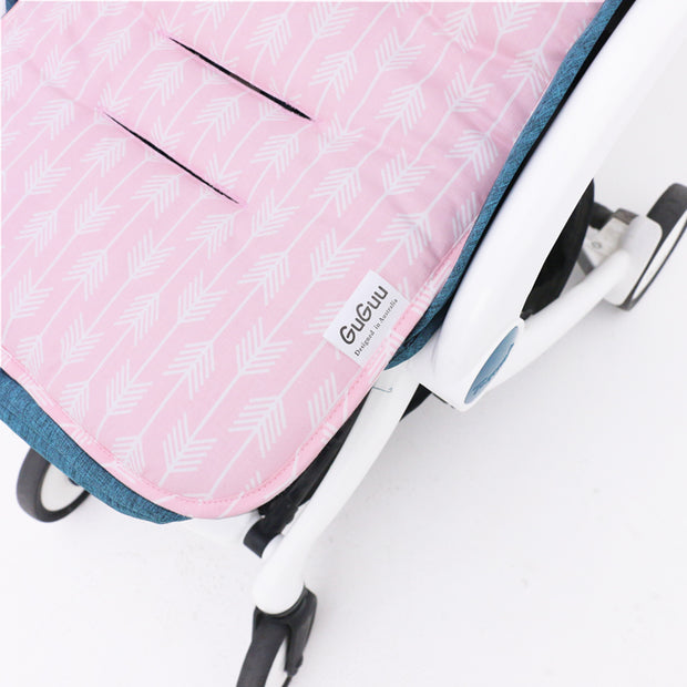 Pink Arrows Pram liner harness 2