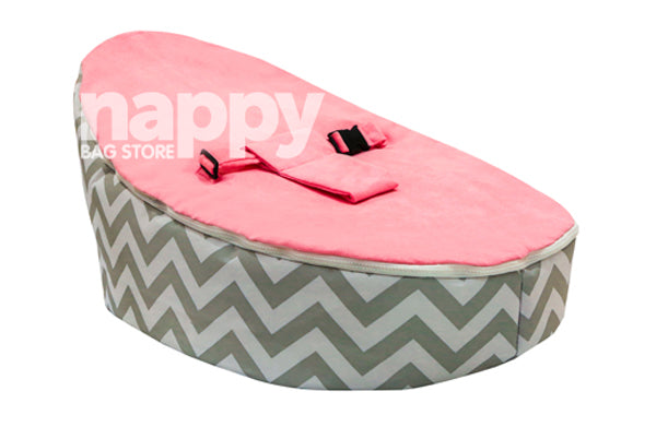 Ava-Zig Zag Retreat Baby Bean Bag