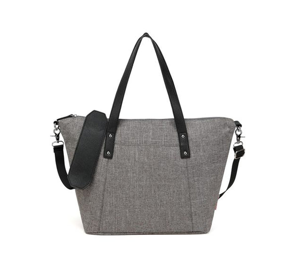 Benito Grey Tote Nappy Bag