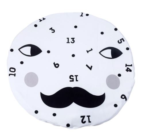 Face Numbers Baby Play Mat