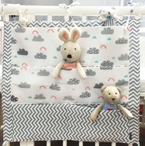 Fun Cloud Cot Organiser