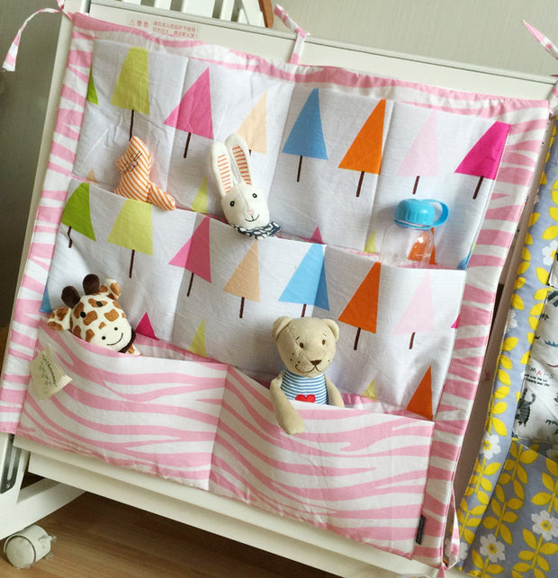Colourful Cones Cot Organiser