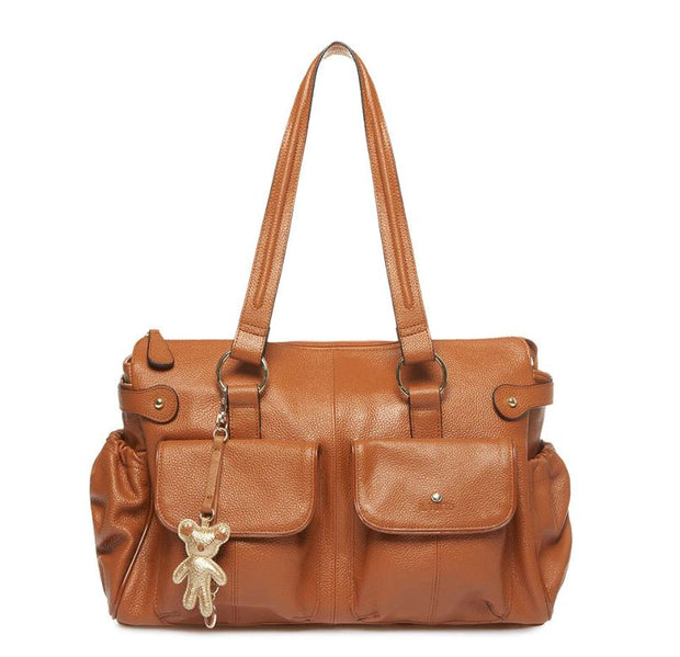 Mia Tan Leather Tote – Iltutto