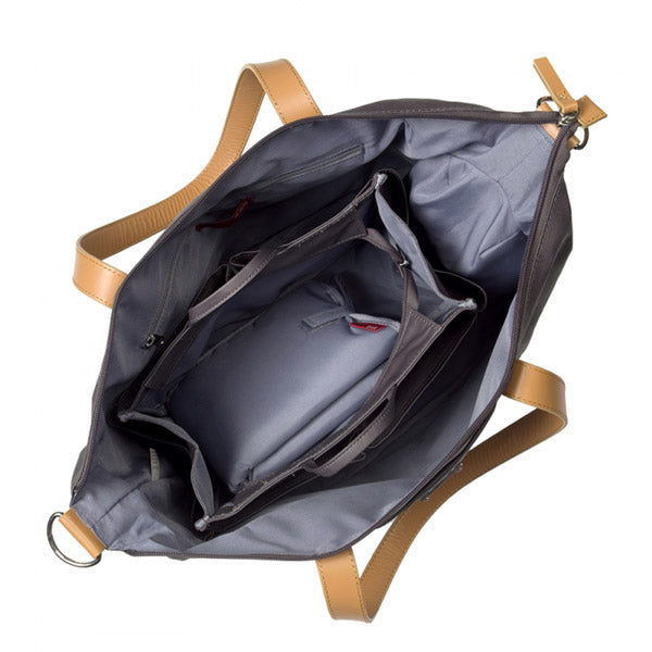 Storksak Black Noa Nappy Bag