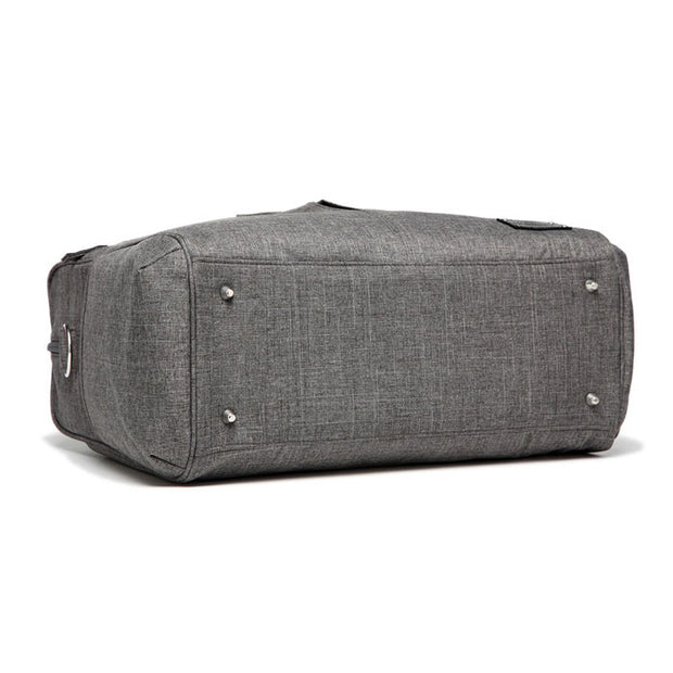 Abbey Carry All Nappy Bag - Grey
