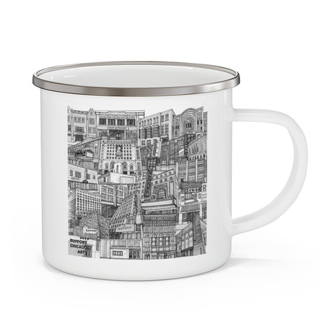 Limited Edition Tiny Guide Enamel Camping Mug