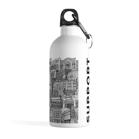 Tiny Guide Stainless Steel Water Bottle