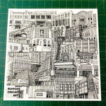 Art Print - Tiny Guide to Chicago Arts by Maura Walsh