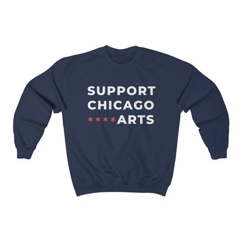 Support Chicago Arts Unisex Heavy Blend™ Crewneck Sweatshirt