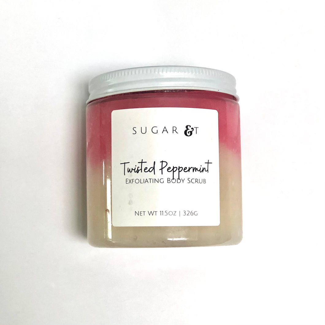 Twisted Peppermint Body Scrub