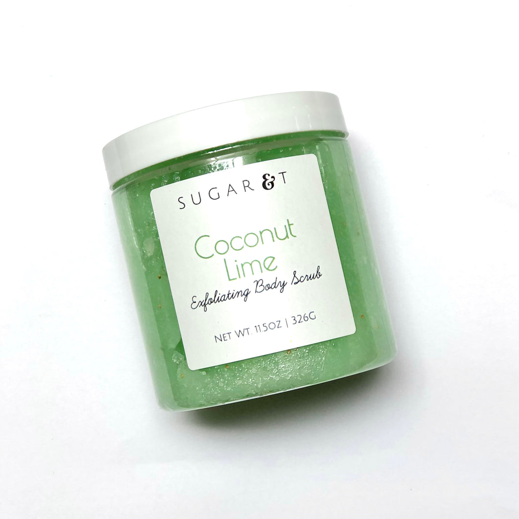 Coconut Lime Body Scrub (back after the holidays)