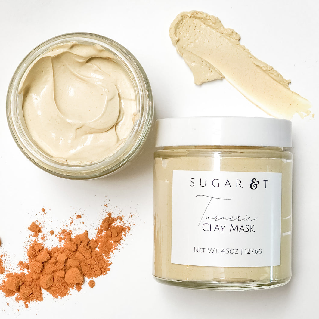 Turmeric Clay Mask