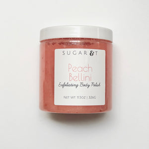 Peach Bellini Body Scrub