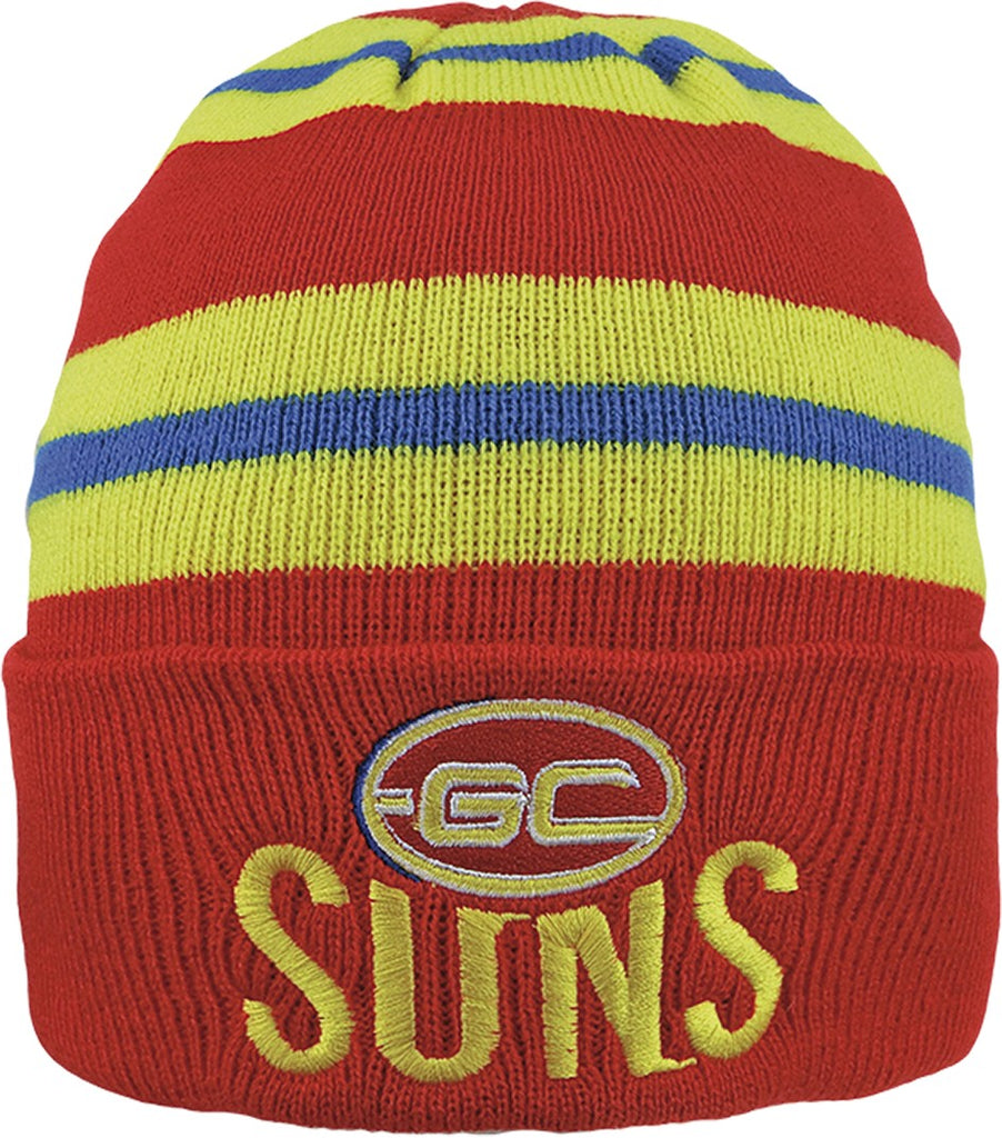 GOLD COAST SUNS WOZZA BEANIE