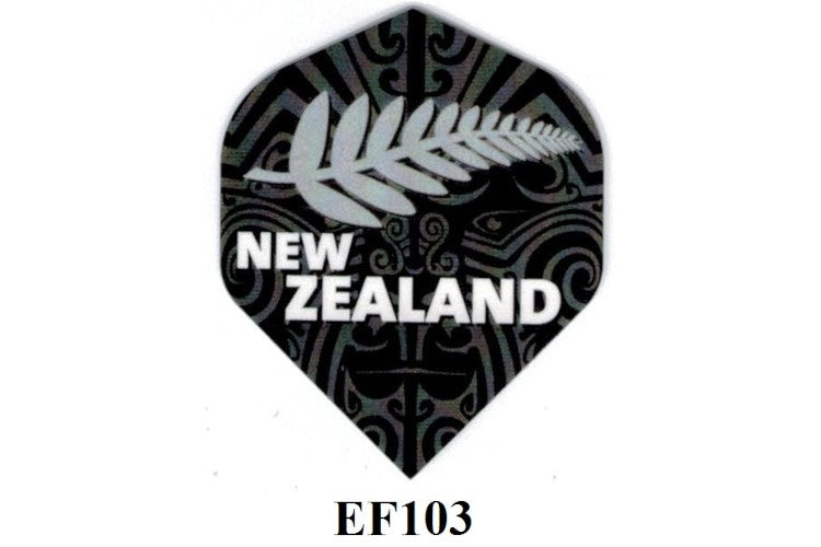 ELKADART NEW ZEALAND SILVER FERN DART FLIGHTS