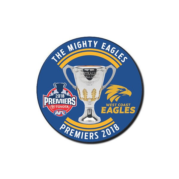 WEST COAST 2018 PREMIERSHIP BADGE