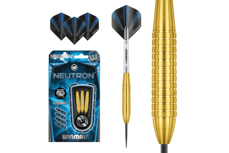 DARTS NEUTRON - BRASS STEEL TIP - 22 GRAMS