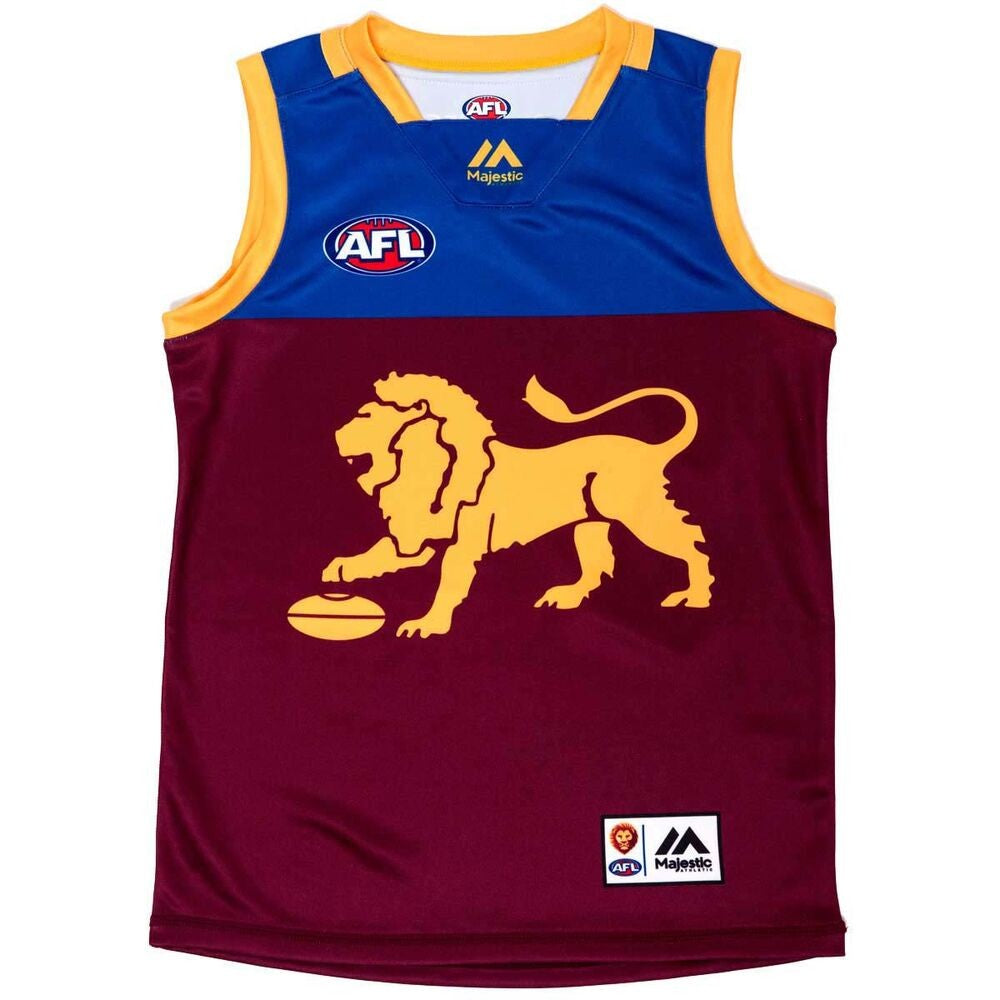 BRISBANE LIONS YOUTH SPONSORED GUERNSEY