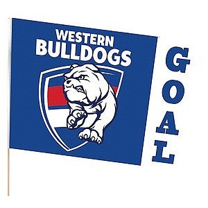 WESTERN BULLDOGS LARGE FLAG