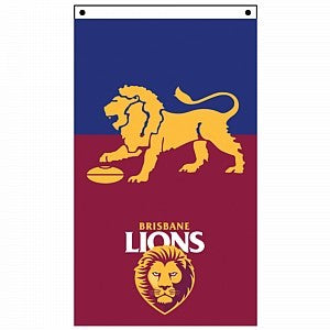 BRISBANE LIONS SUPPORTER FLAG