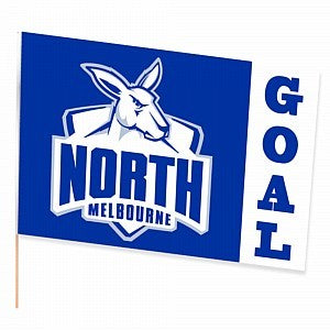 NORTH MELBOURNE LARGE FLAG