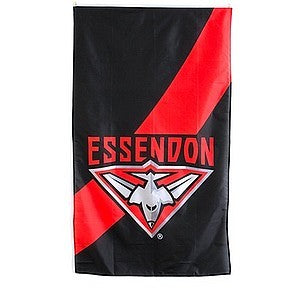 ESSENDON SUPPORTER FLAG
