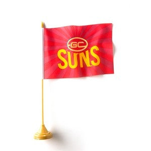 GOLD COAST SUNS DESK FLAG