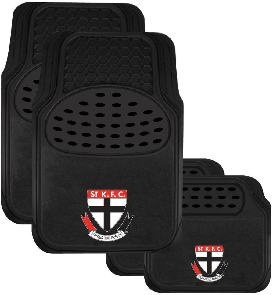 ST KILDA OFFICIAL AFL CAR MAT SET