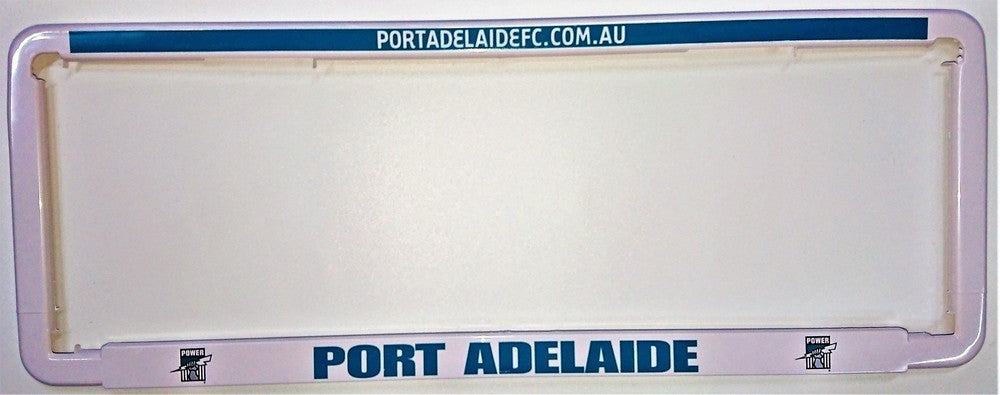 PORT ADELAIDE NUMBER PLATE SURROUND