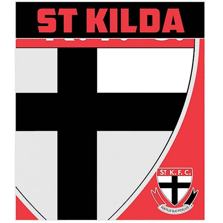 ST KILDA FLEECE THROW RUG