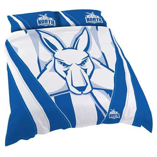NORTH MELBOURNE QUILT COVER SET DOUBLE