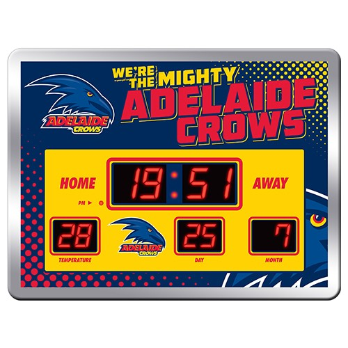 ADELAIDE CROWS SCOREBOARD CLOCK
