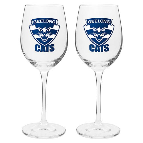 GEELONG S/2 WINE GLASSES