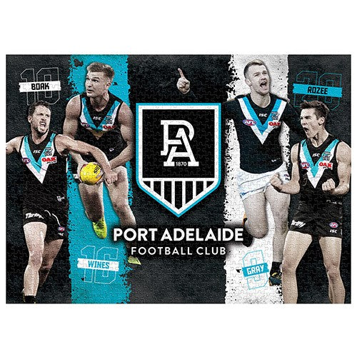 PORT ADELAIDE PLAYER JIGSAW PUZZLE