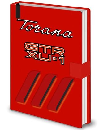 TORANA GTR XU-1 - NOTE BOOK