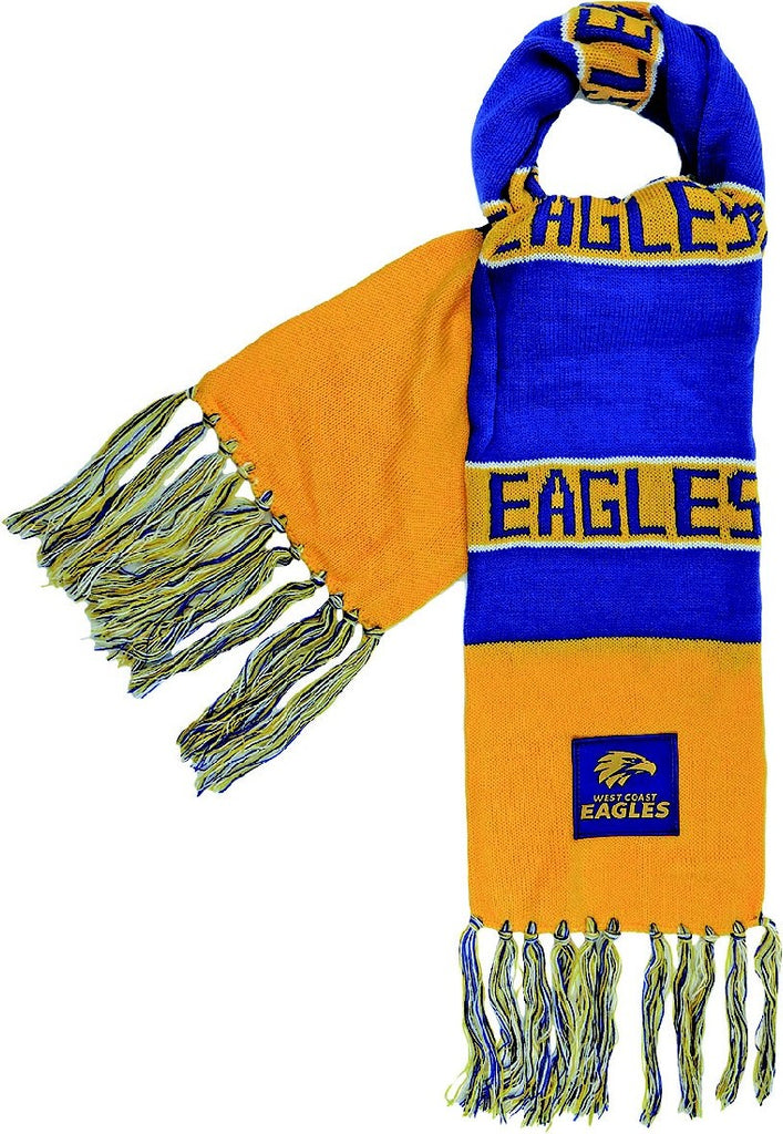 WEST COAST EAGLES BAR SCARF