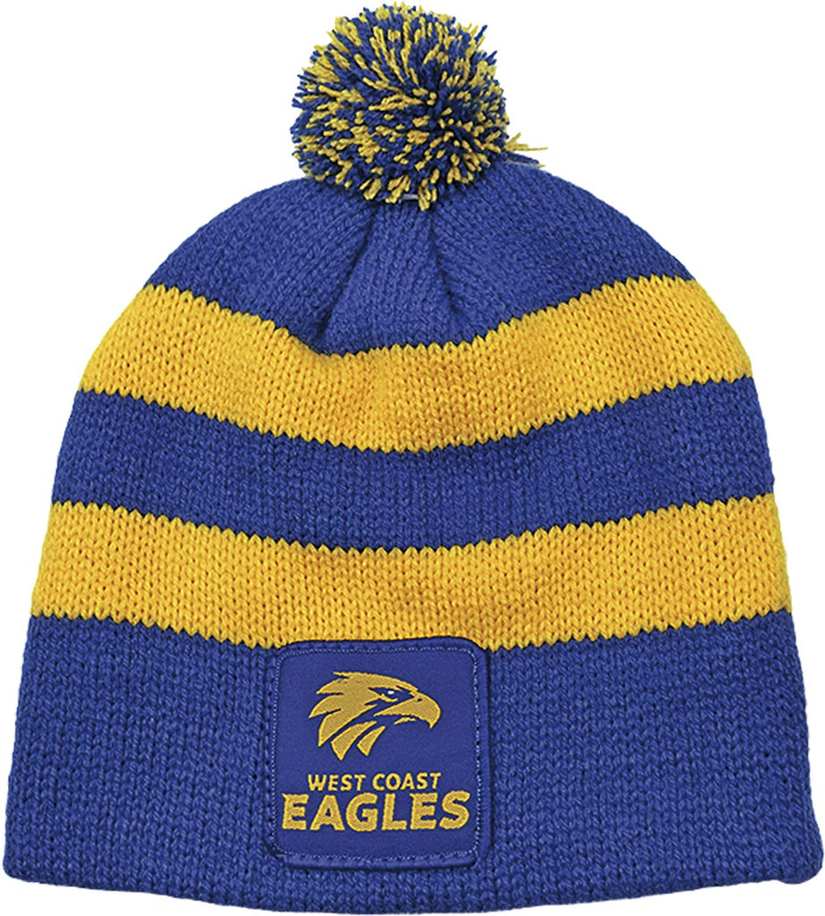 WEST COAST EAGLES BABY BEANIE