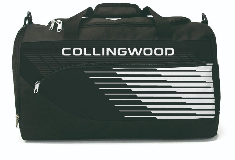 COLLINGWOOD BOLT SPORTS BAG