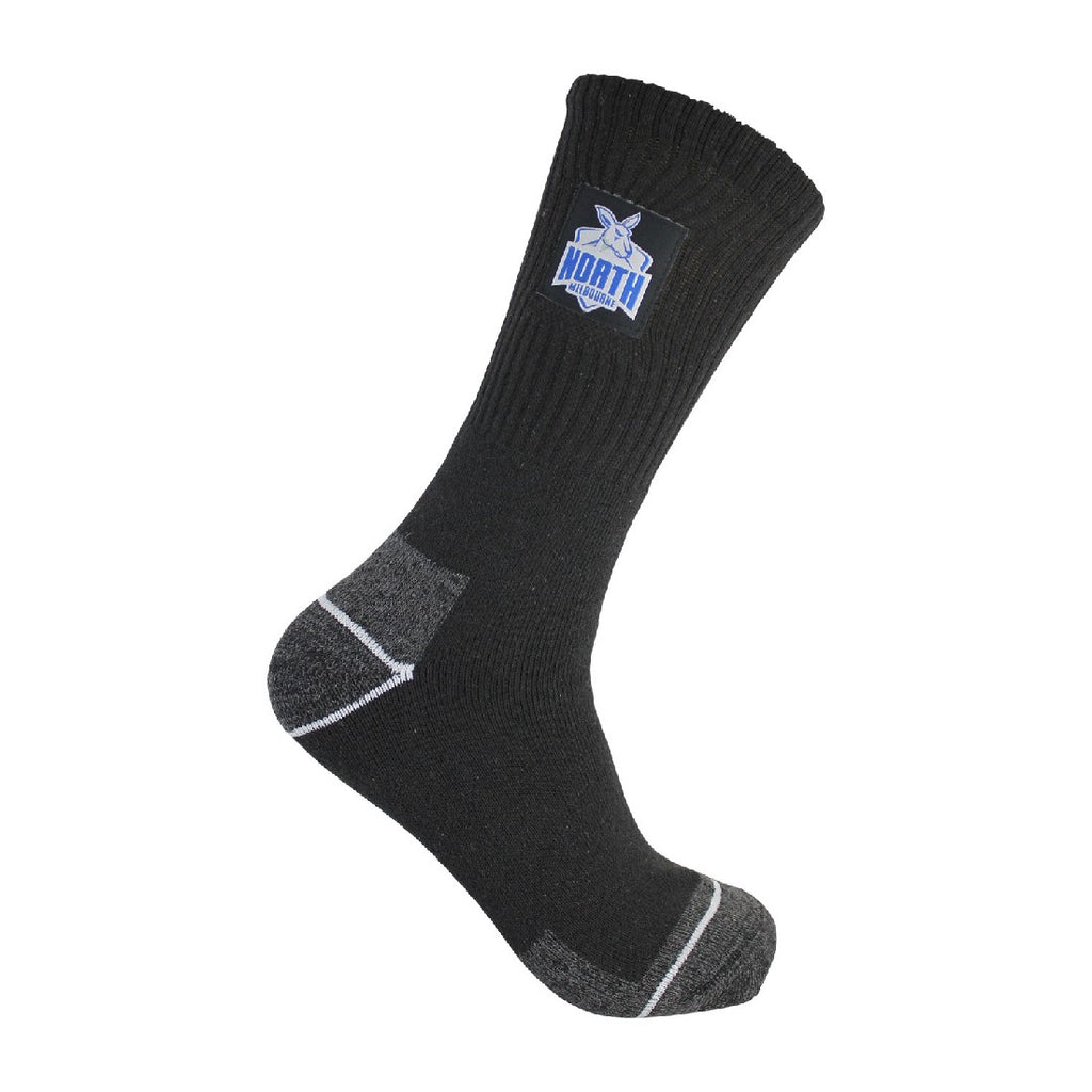 NORTH MELBOURNE MENS WORK SOCKS