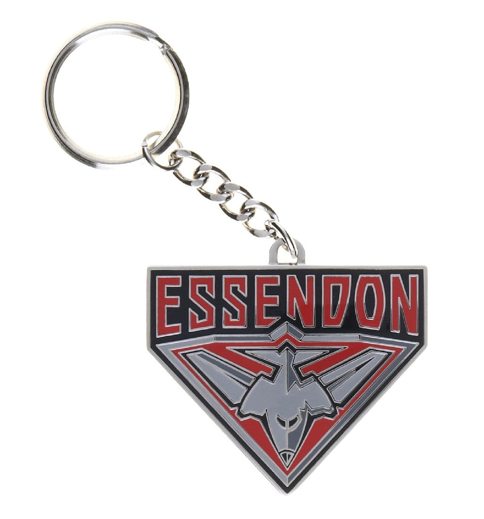 ESSENDON LOGO KEYRING