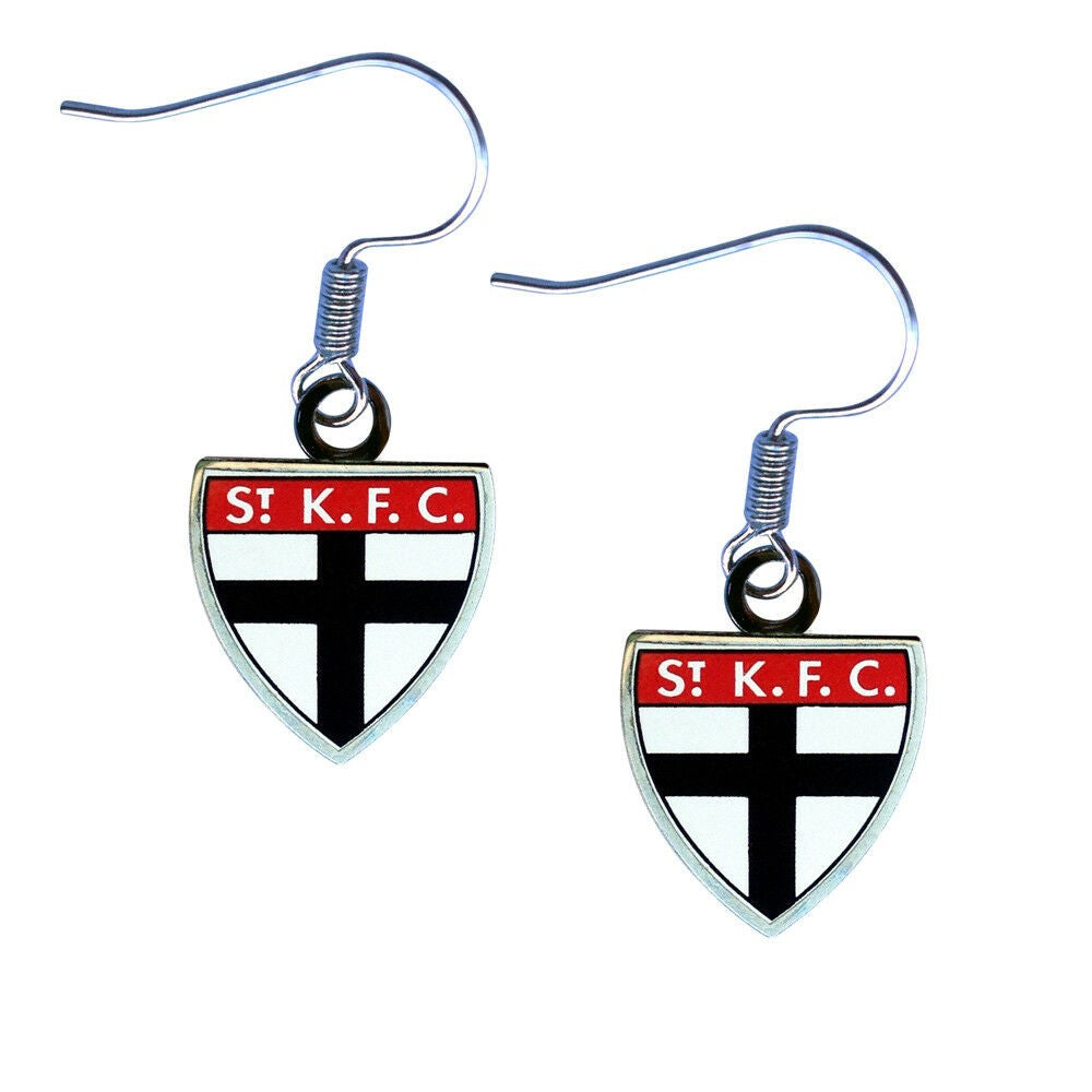 ST KILDA LOGO EARRINGS