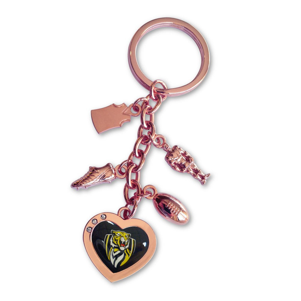 RICHMOND CHARM KEYRING