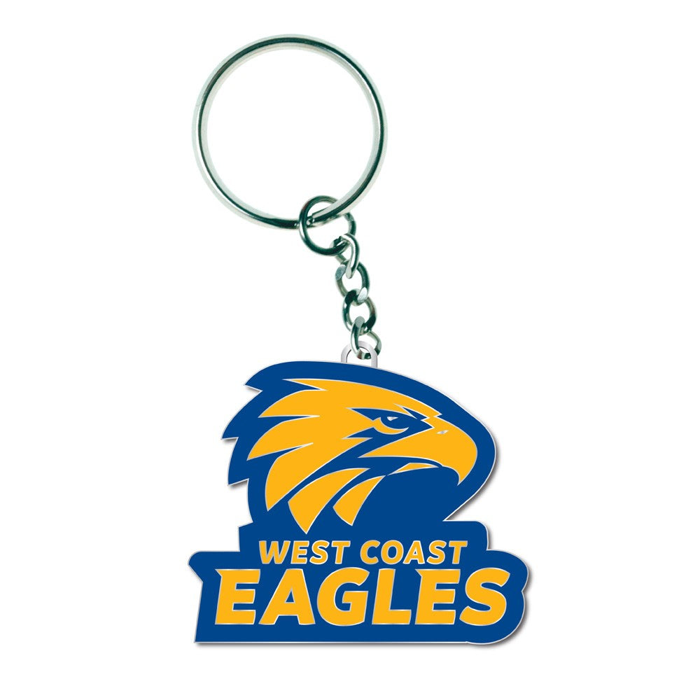 WEST COAST EAGLES LOGO KEYRING