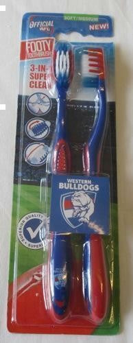 WESTERN BULLDOGS TOOTHBRUSH