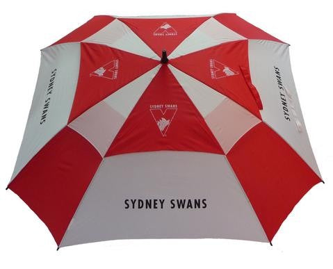 SYDNEY SWANS OFFICIAL AFL DELUXE GOLF UMBRELLA